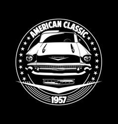 Classic car 01 vector