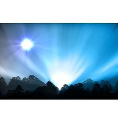 Ial aurora polaris vector