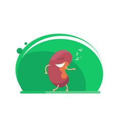 kidney dances vector image