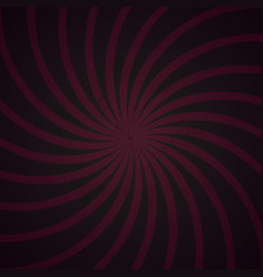 Purple and black spiral vintage vector