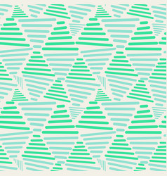 seamless triangles pattern vector image