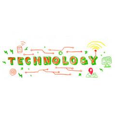 Technology word vector
