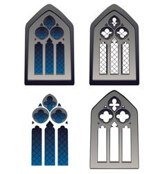 Gothic Window vector image