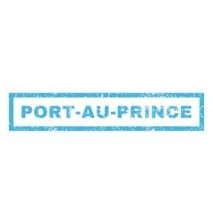 Port-Au-Prince Rubber Stamp vector image vector image