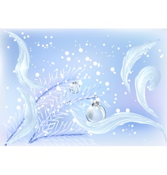 chrismas outdoors vector image