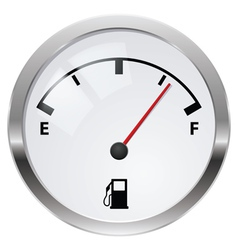 Fuel indicator vector image