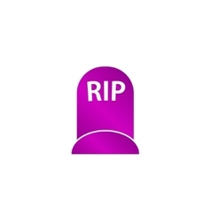 Grave icon concept for design vector