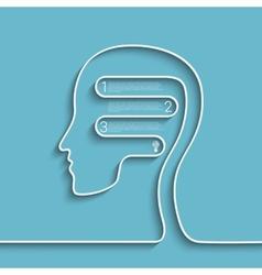 headlist vector image