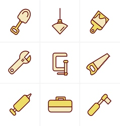 Icons Style Basic - Tools and Construction icons vector