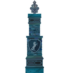 magic pillar vector image