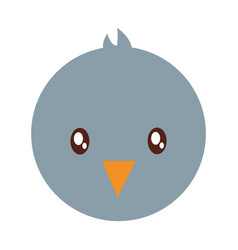pigeon bird icon vector image