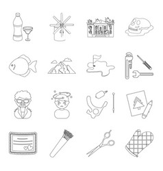 plumbing medicine maintenance and other web icon vector image