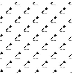 putty knife pattern seamless vector image