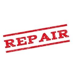 Repair Watermark Stamp vector image