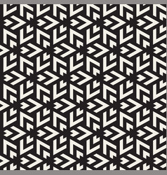 Seamless triangle lines mosaic pattern vector