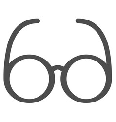 Spectacles icon vector