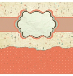 Valentine hearts card vector image