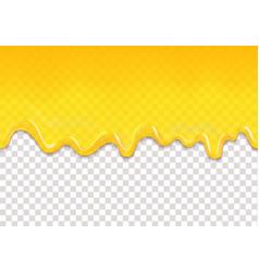 lemon or honey jelly drops seamless pattern vector image vector image