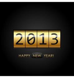 2013 digital year vector image vector image