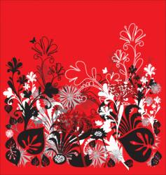 garden illustration vector image