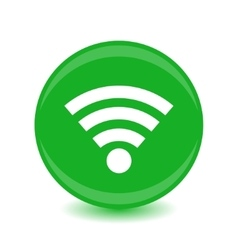 Wireless Icon - icon vector image