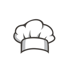 Chef hat chef logo vector