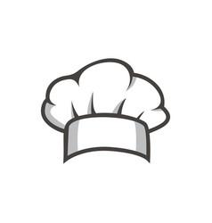 Chef hat logo vector