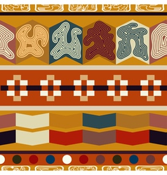 Indian ethnic seamless texture vector