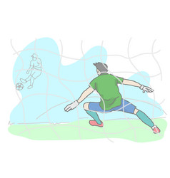 Lovely cartoon drawing style eps10 vector