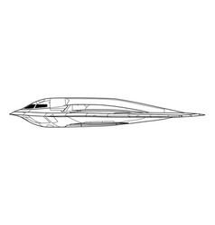 Northrop b-2 spirit vector
