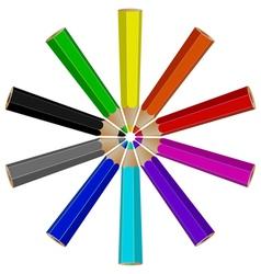 pencil logo vector image