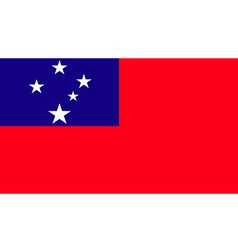 Samoa vector image