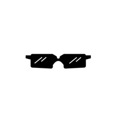 sun glasses icon vector image