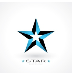 Symbol star vector