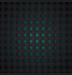techno pattern black metal grid with turquoise vector image