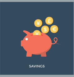 Term savings vector