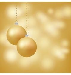 Merry Christmas happy new year soft glowig vector image