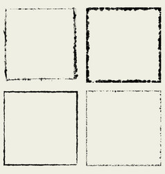 four square frame vector image