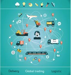 Global trading vector