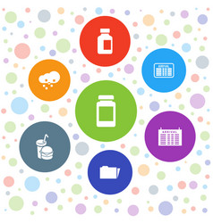 Info icons vector