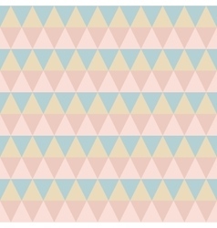 Pastel retro seamless pattern vector image