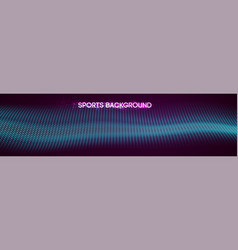 sport background mixed media vector image
