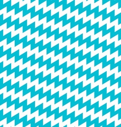 Turquoise and white diagonal chevron seamless vector