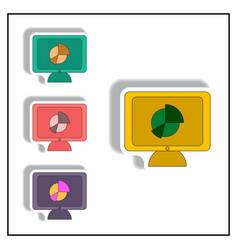 Statistic online collection in vector