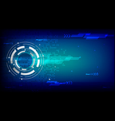 future technology concept abstract background vector image