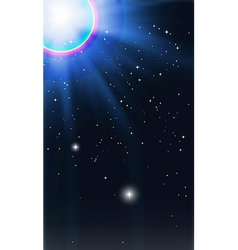 Star of Bethlehem vector image vector image