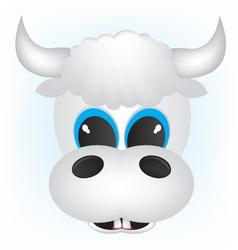 cow cartoon vector image