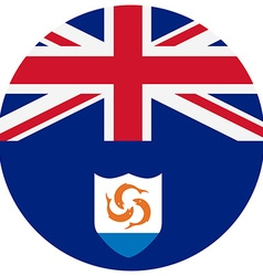 Anguilla flag vector image