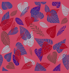 bright nature pattern vector image