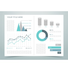 Finance Infographic Page 1 vector image
